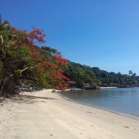 Praia da Catita -Ilha de Jaguanum
