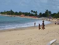 Praia do Muta e seus nativos índios