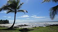 vista da praia Back Door