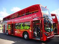 Ônibus especiais circulam pelas principais atrações de Gramado e Canela