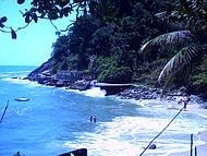 Vista da Trilha, chegando na praia do �den