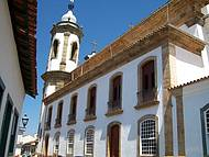 Lateral da Igreja de Nossa Senhora do Carmo