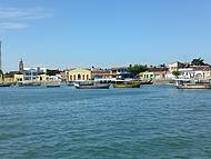 Cidade de Piaçabuçu vista do Velho Chico