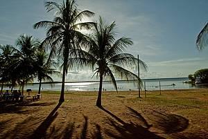 Catarina: Praia tem infraestrutura para quem viaja em família -