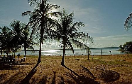 Catarina - Praia tem infraestrutura para quem viaja em família
