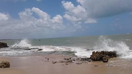 Praia do amor - O mar e sua beleza