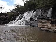 Famosa Cachoeira da Zilda