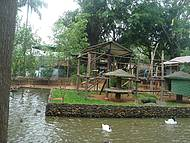 Vista do maior zoo catarinense