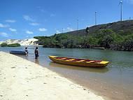 Rio que faz a divisa entre o Rio Grande do Norte e a Paraíba.