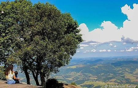 Pousada Ceu da Mantiqueira - Bela paisagem das Serras de Minas Gerais