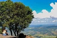 Bela paisagem das Serras de Minas Gerais