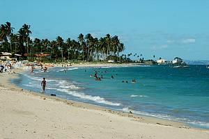 Penha: Praia da Penha está entre as melhores<br>