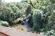 Uma das pontes do caminho