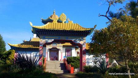Templo Budista - Lugar de paz e tranquilidade