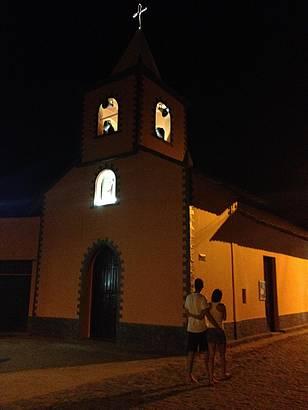Igreja de S�o Sebasti�o � noite