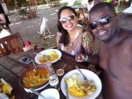Almoço Vila da Barra Boipeba