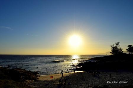 Fim de tarde na Praia da Vila.