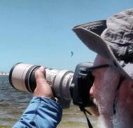 Kitesurf colore a praia