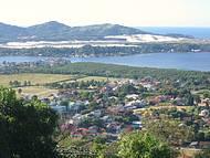 Vista da lagoa da Conceição, e ao fundo as maravilhosas dunas da Joaquina!