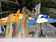 Colorido do Nordeste na Praia do Futuro