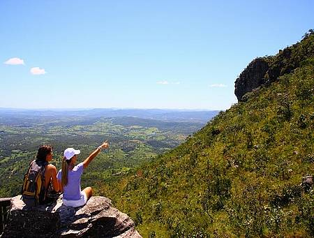 Parque Estadual da Serra Dourada - Belos cenários ao longo do trekking
