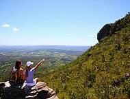 Belos cenários ao longo do trekking