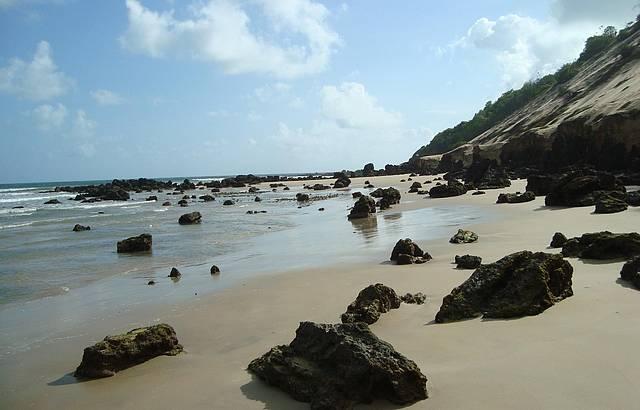 Canto da Praia de Ponta Negra