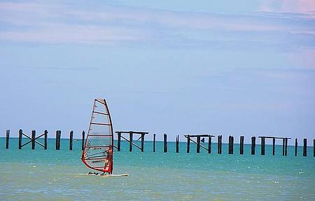 Cumuruxatiba - Uma bela praia.