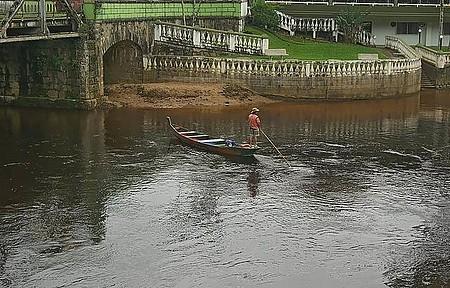 Rio Nhundiaquara - Barqueiro