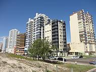 Edifícios do alto das dunas...