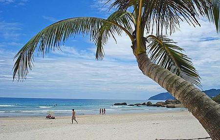 Lopes Mendes - Considerada a praia mais bonita de Ilha Grande.