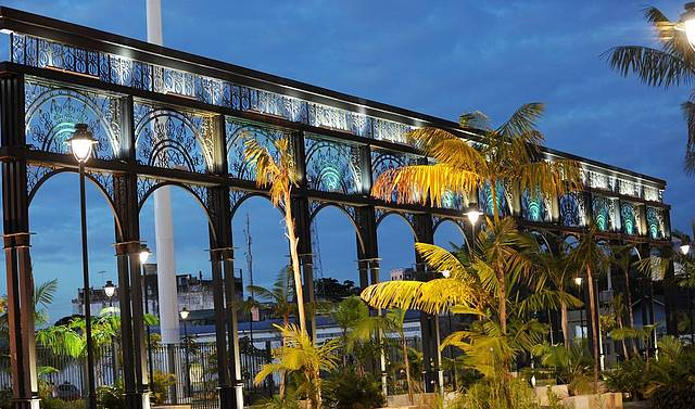 Arcos de uma das Entradas do Parque