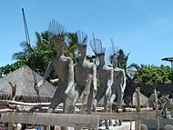 Monumento aos índios Pataxós