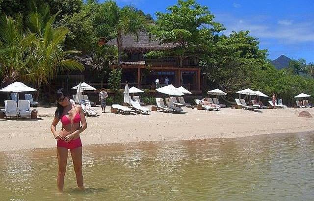 Uma praia perfeita