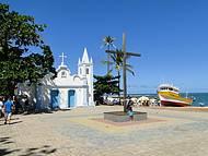 A simplicidade e rusticidade da Igreja de S�o Francisco
