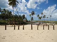 Lugar delicioso. Há o encontro do Rio Punaú com o mar e belas dunas.