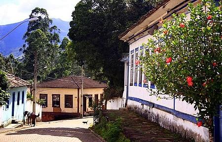 Casario histórico - Cores e charme rústico no casario do centro da cidade