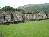 Ruinas do antigo pres�deo.