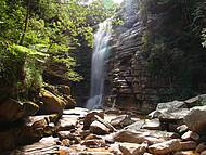 Cachoeira do Mosquito esse nome porque lá foram encontrados apenas diamantes peq