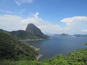 Pão de Açúcar e a Entrada da Baía de Guanabara