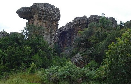 Pq de Vila Velha - Pedra do camelo