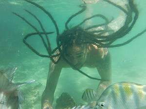 Mergulhar nas piscinas naturais