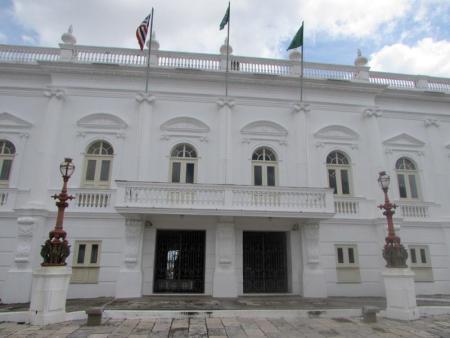 No Centro Histórico