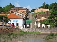 Vista entrada de Alc�ntara
