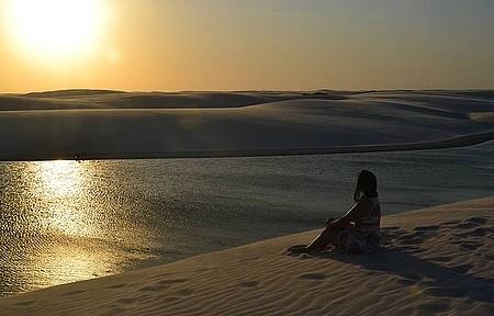 Grande Lençóis Maranhenses - Pôr-do-Sol Mais Bonito Que já VI