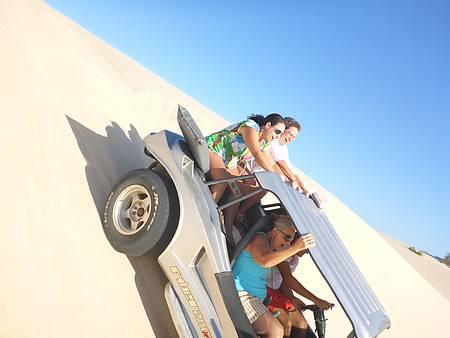 Praia de Cumbuco - Passeio de buggy com muita emoção!!! kkk