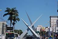 Goiânia - Monumento dos Três Marcos - Praça Latiff Sebba
