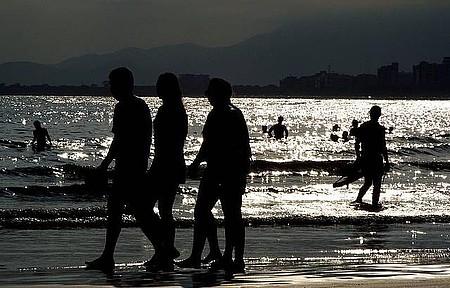 Riviera de São Lourenço - Apreciando o pôr do sol
