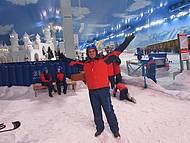 Snowland, leve roupa bem quente por baixo.