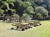 Visual do parque infantil.